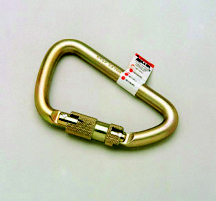 Miller by Honeywell Steel Twist Lock Carabiner - 5000