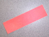 3M Reflective Marking Film for Hard Hats - Red Orange - 25.4 mm x 100 m
