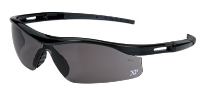 ORR XP310 Safety Glasses - Black Frame - Gray